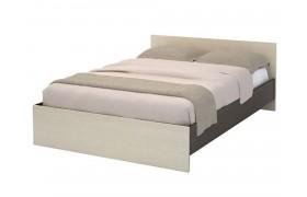 Кровать Бася в цвете Венге