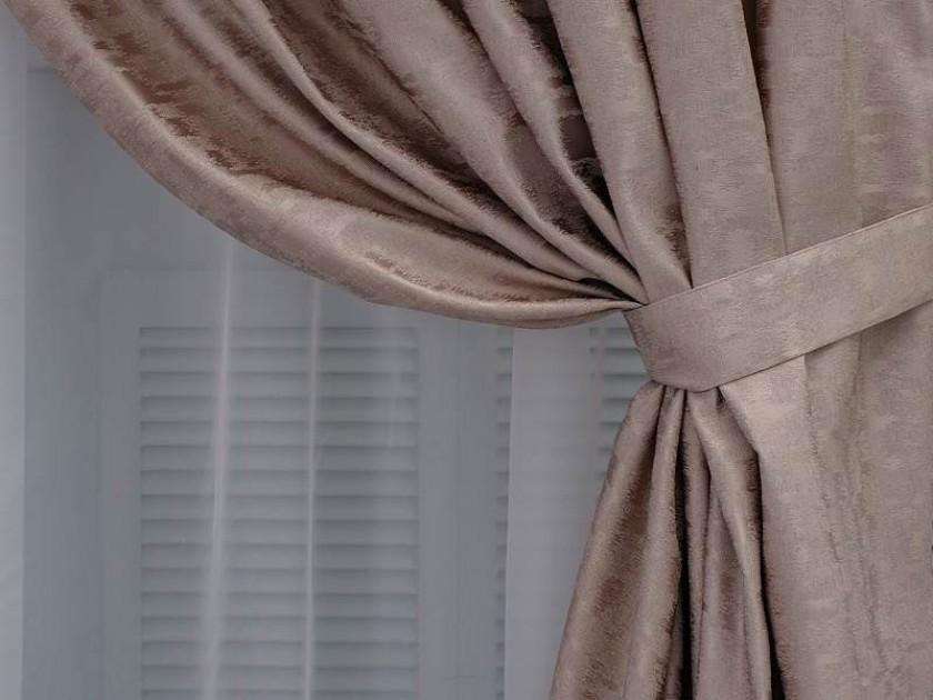 шторы Шторы DIAMOND, цвет: нежная роза (120x60) DIAMOND