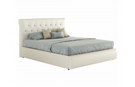 Кровать Мягкая с основанием и матрасом ГОСТ Амели (140х200)