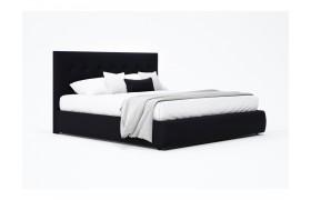 """Кровать Мягкая """"Selesta&; 1800 темная с матрасом АСТРА"""