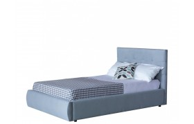 Кровать Мягкая Selesta 1200 серая подъемным механизмом матра