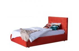 Кровать Мягкая Selesta 1200 оранж с подъемным механизмом матра