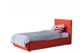 Кровать Мягкая Selesta 900 оранж с подъемным механизмом матрас