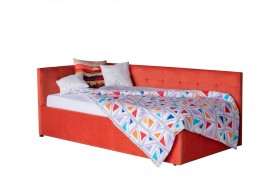 Кровать Односпальная тахта Bonna 900 оранж с подъемным механизмо