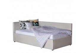 Кровать Односпальная тахта Bonna 900 беж ткань с подъемным