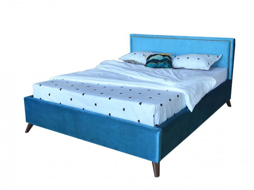 promo pr p2705 24 см Мягкая кровать Melani 1600 синяя ортопед.основание с матрасом PROMO B COCOS Мягкая кровать Melani 1600 синяя ортопед.основание с матрасом PR