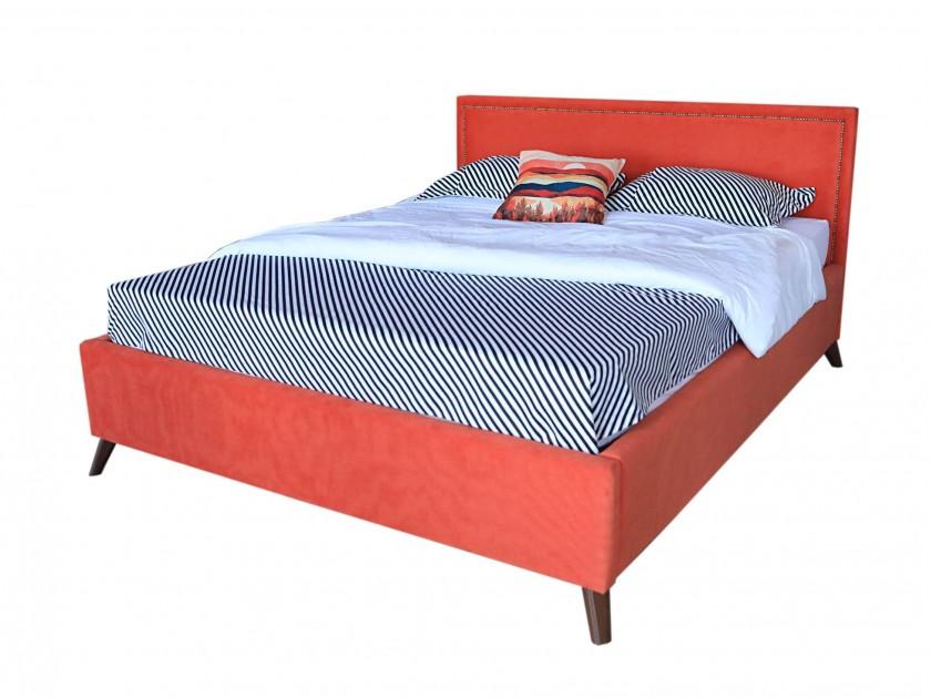 promo pr p2705 24 см Мягкая кровать Melani 1600 оранж ортопед.основание с матрасом PROMO B COCOS Мягкая кровать Melani 1600 оранж ортопед.основание с матрасом PR
