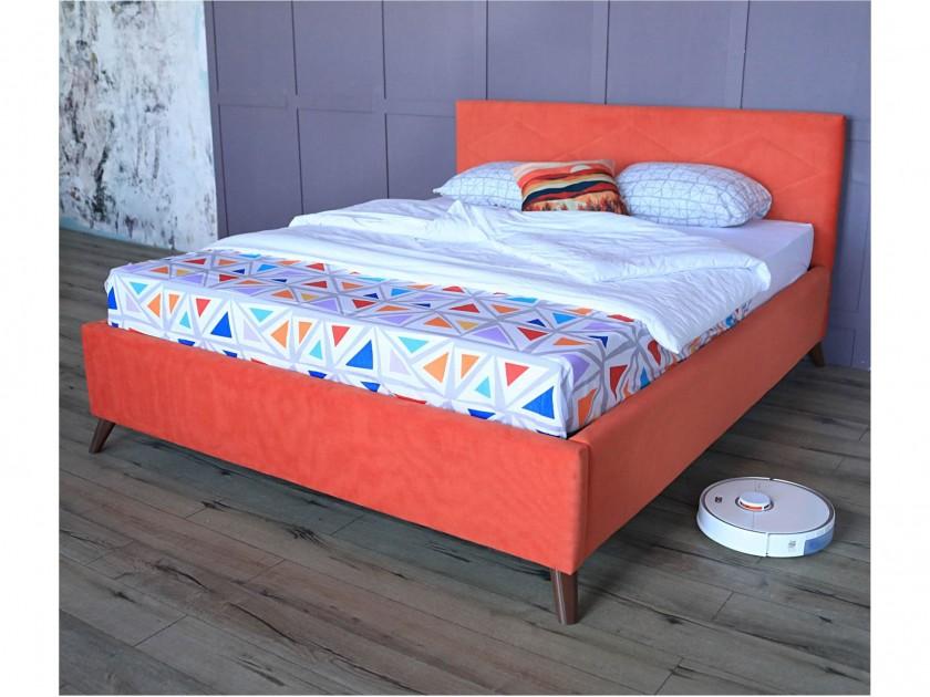 promo pr p2705 24 см Мягкая кровать Monika 1600 оранж ортопед.основание с матрасом PROMO B COCOS Мягкая кровать Monika 1600 оранж ортопед.основание с матрасом PR