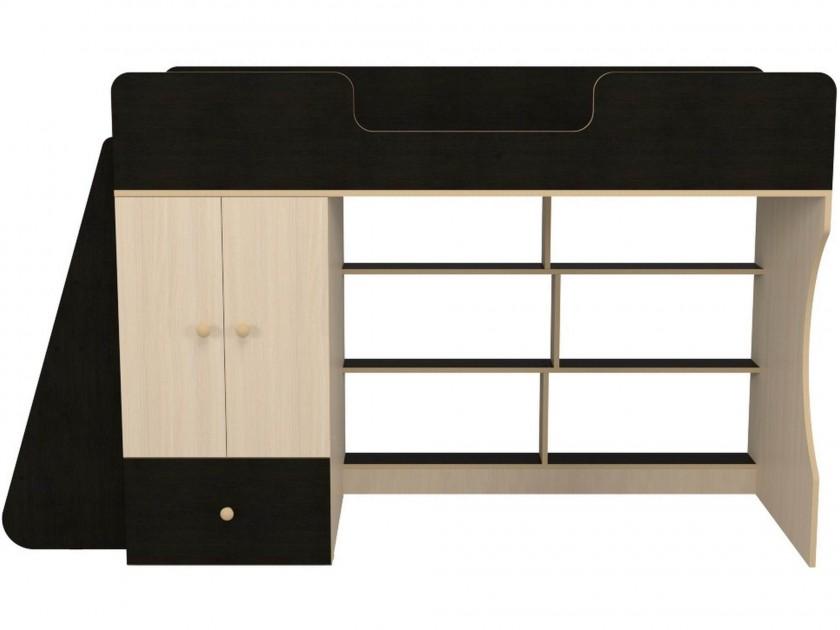 Кровать-чердак со шкафом Капризун 1 (80х180) Капризун