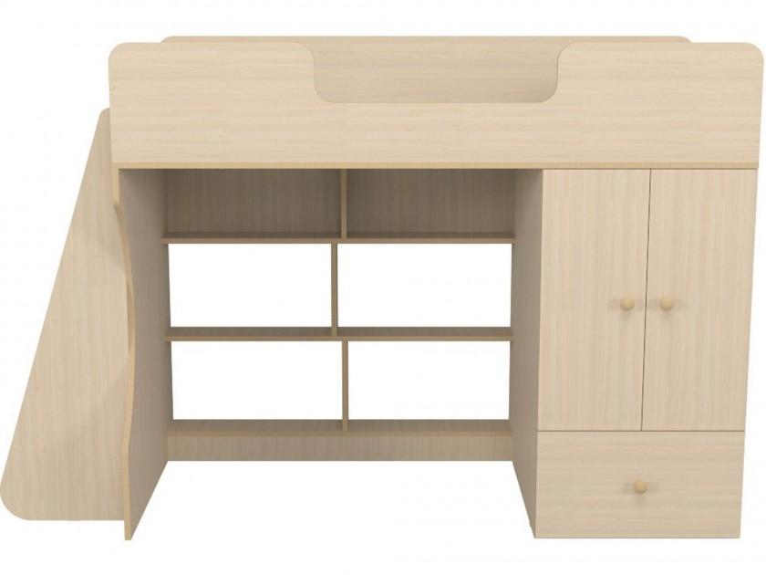 Кровать-чердак со шкафом Капризун 2 (80х160) Капризун