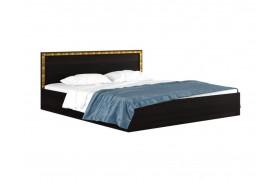 """Кровать Большая двуспальная """"Виктория-&; 2 метра венге"""