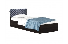 """Кровать """"Виктория-П &; Односпальная 900 венге со съемно"""