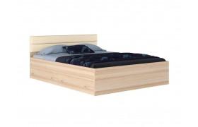 """Кровать """"Виктория МБ&; Двуспальная 1600*200 с мягким"""