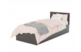 Кровать Адель 900 с багетом и ортопедическим матрасом PROMO