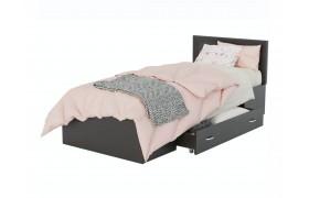 Кровать Адель 900 с багетом и ящиком