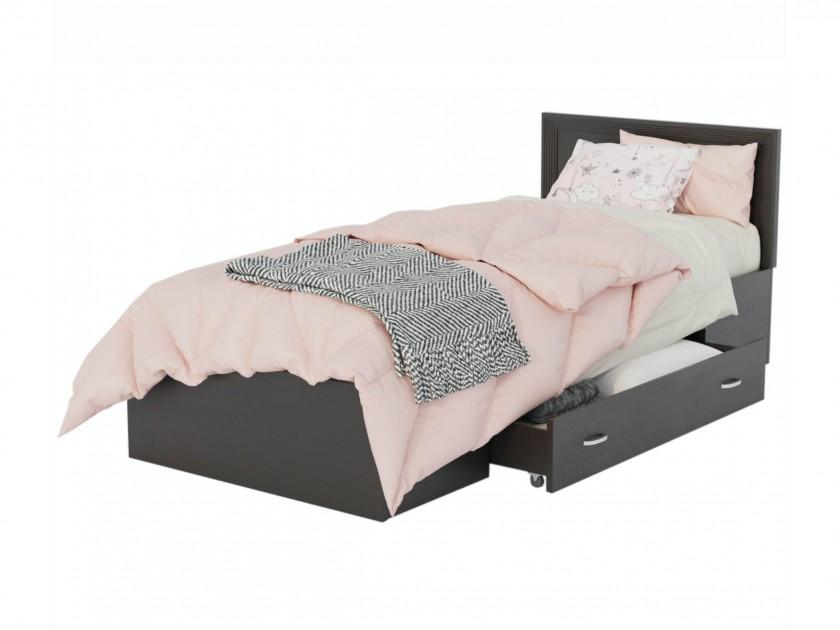Кровать Адель 900 с багетом, ящиком и матрасом ГОСТ Кровать Адель 900 с багетом, ящиком и матрасом ГОСТ