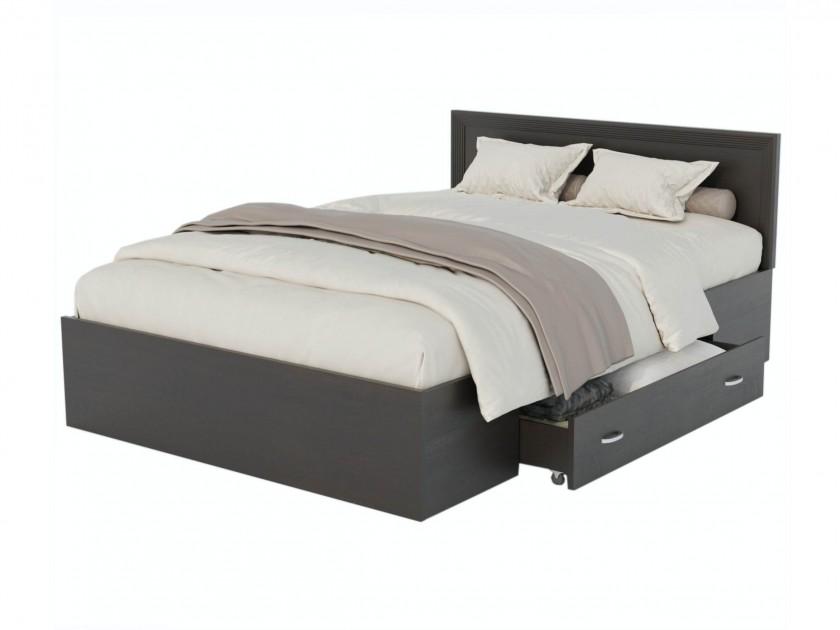 Кровать Адель 1200 с багетом, ящиком и матрасом ГОСТ Кровать Адель 1200 с багетом, ящиком и матрасом ГОСТ