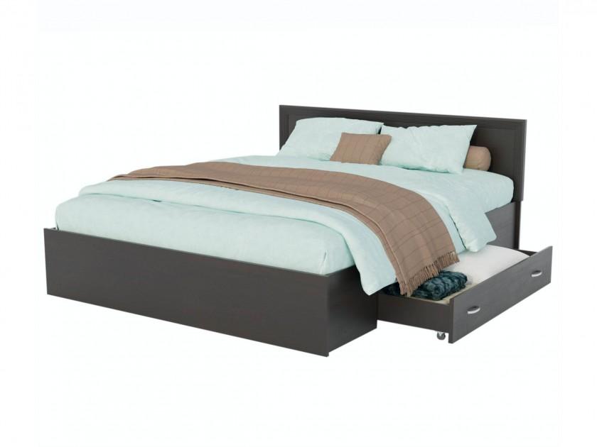 Кровать Адель 1600 с багетом, ящиком и матрасом ГОСТ Кровать Адель 1600 с багетом, ящиком и матрасом ГОСТ