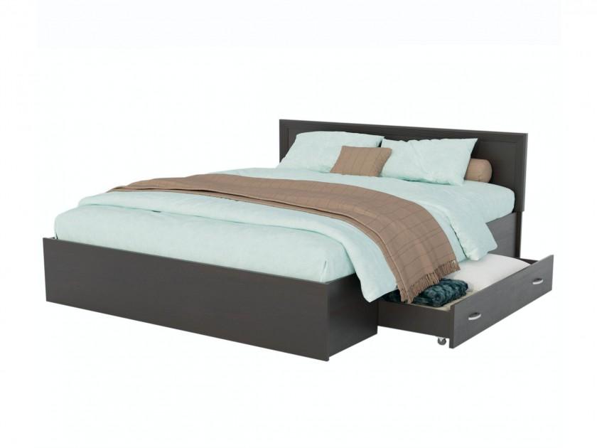 Кровать Адель 1800 с багетом, ящиком и матрасом ГОСТ Кровать Адель 1800 с багетом, ящиком и матрасом ГОСТ