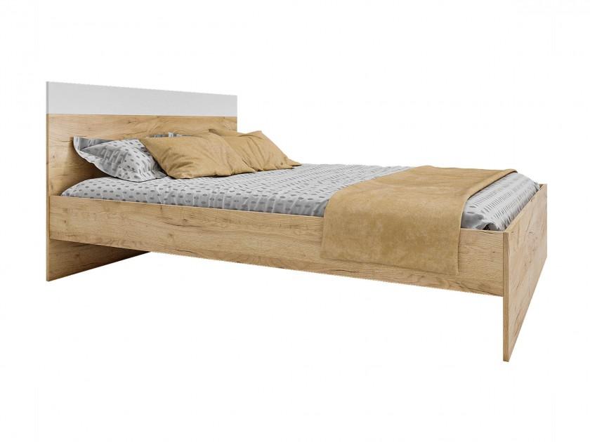 Кровать Диана 1400 (дуб золотой) с матрасом ГОСТ Кровать Диана 1400 (дуб золотой) с матрасом ГОСТ