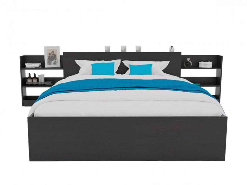 Кровать Доминика с блоком 140 (Венге) с матрасом PROMO B COCOS Кровать Доминика с блоком 140 (Венге) с матрасом PROMO B COCOS распродажа кроватей с матрасом недорого