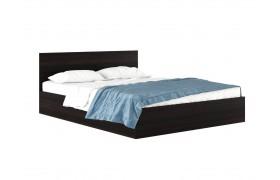 """Кровать Двуспальная """"Виктория&; 1600 венге с матрасом Г"""