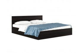 """Кровать Двуспальная """"Виктория&; 1800 венге с матрасом Г"""