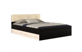 "Кровать 2-х спальная ""Виктория ЭКО-П&; 1600 мягким"