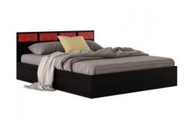 """Кровать Двуспальная """"Виктория-С&; 1600 венге"""