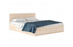 """Кровать Двуспальная """"Виктория&; 1600 дуб с матрасом Pro"""