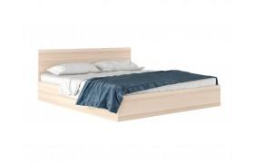 """Кровать Двуспальная """"Виктория&; 1800 дуб с матрасом Pro"""