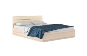 """Кровать Двуспальная """"Виктория МБ&; 160 см. дуб изголо"""