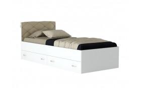 """Кровать Односпальная с подушкой """"Виктория-&; на"""