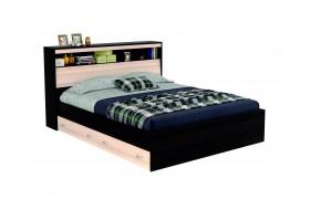"""Кровать Двуспальная """"Виктория&; 1600 с блоком и ящиками"""