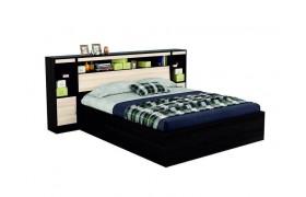 """Кровать Двуспальная """"Виктория&; 1800 с блоком, тумбами"""
