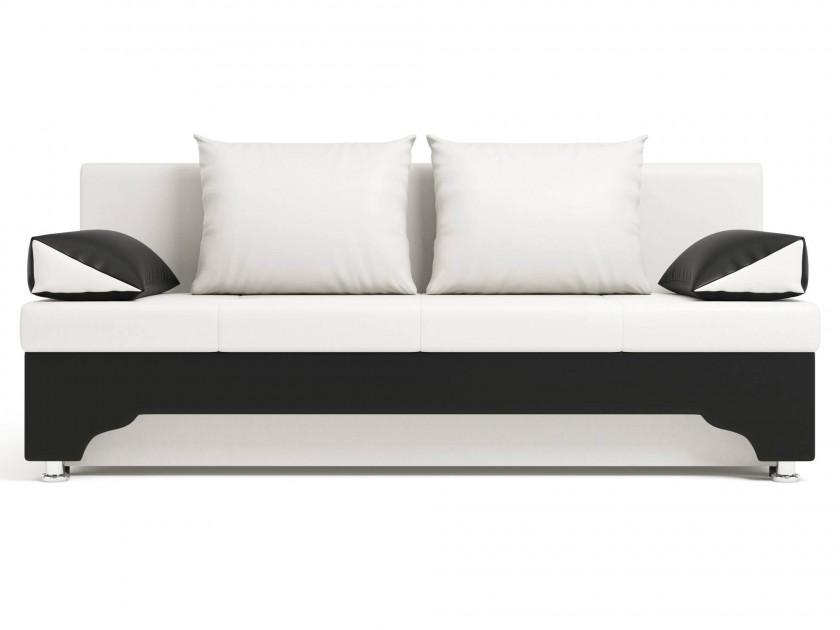 Черно белые кожаные диваны
