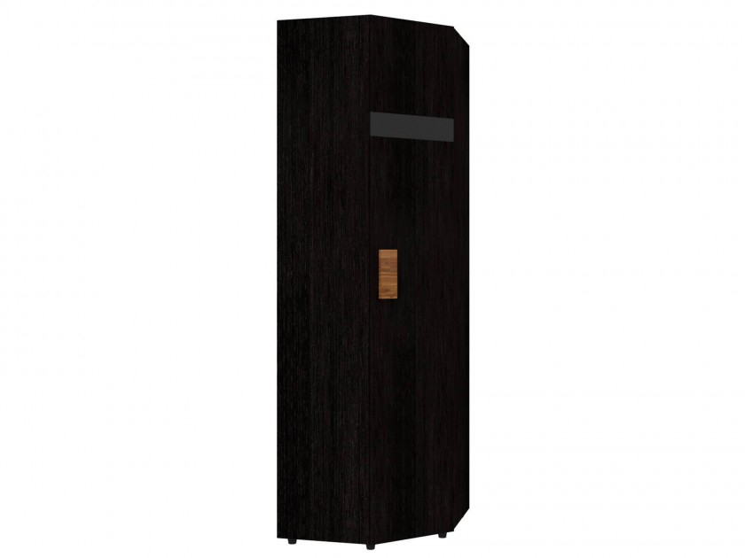 распашной шкаф Шкаф угловой 1 Hyper Венге Правый Hyper для спальни