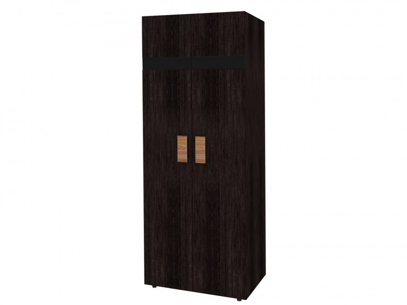 Черные шкафы для одежды
