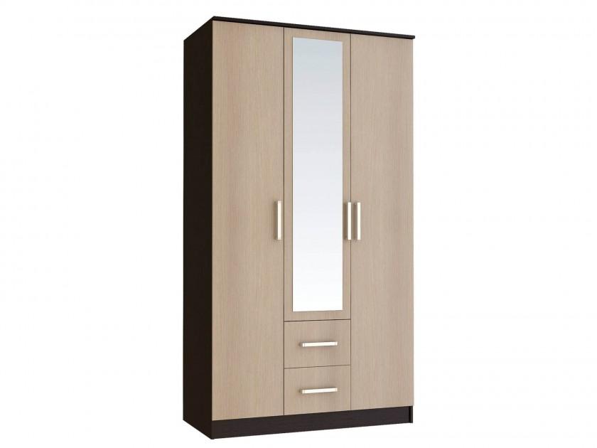Шкафы трехстворчатые с зеркалом