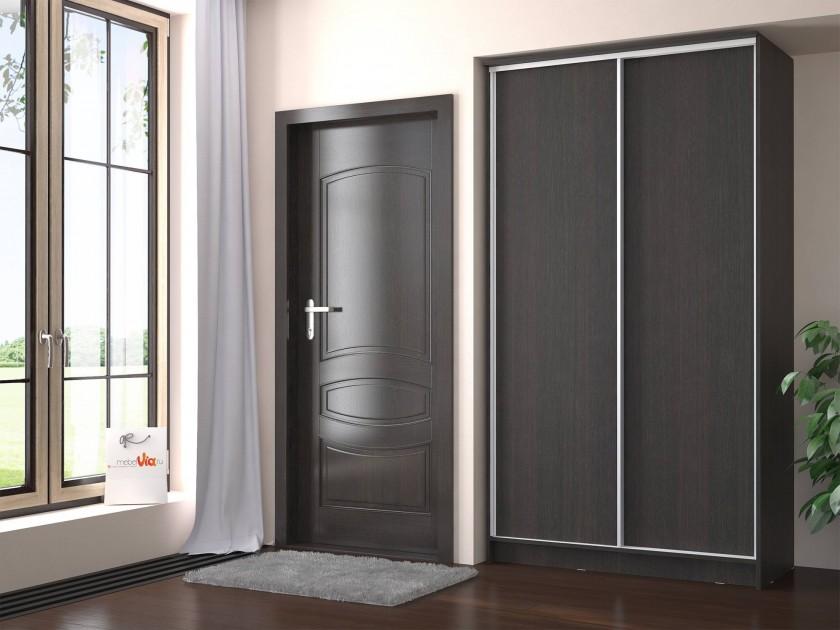 Шкафы-купе для спальни узкие