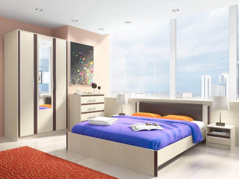 цена на спальный гарнитур Спальня Novella Novella в цвете Дуб кремона