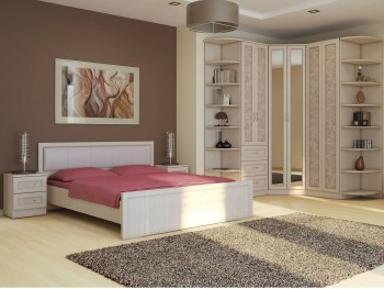 Спальный гарнитур София в цвете Granite Rose