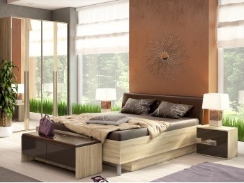 Спальный гарнитур Спальня Ирма 6