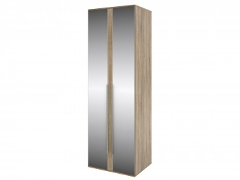 Распашной шкаф Шкаф с зеркалом и штангой Ирма