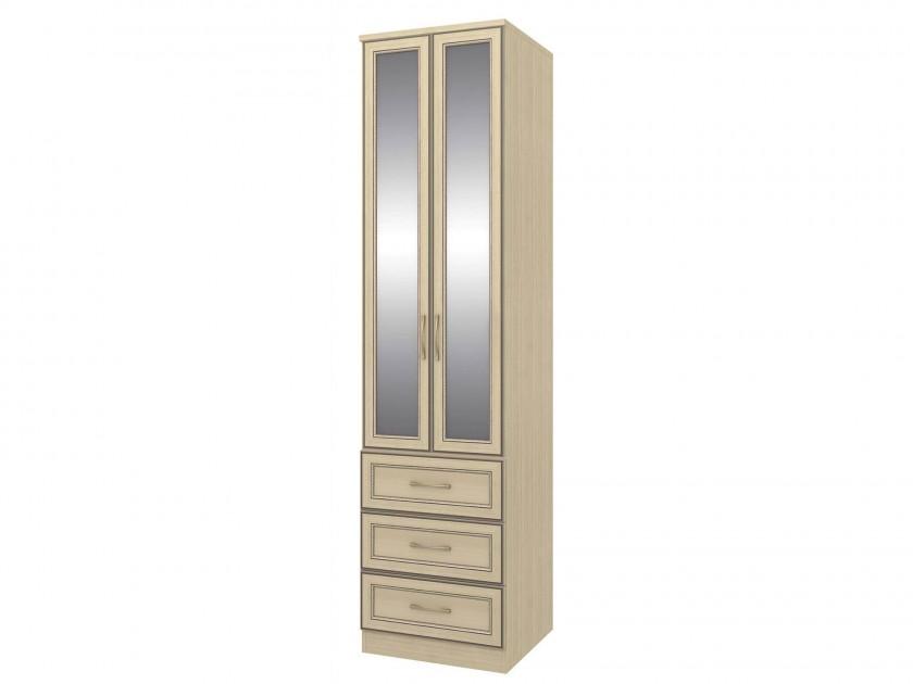 цена на распашной шкаф Шкаф с ящиками София 6 София в цвете Granite Rose