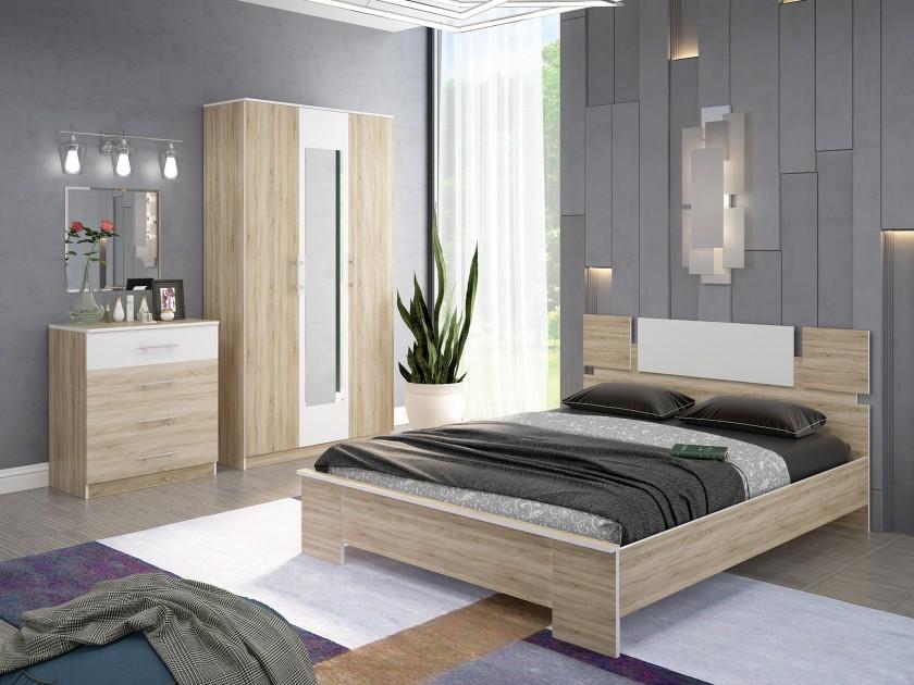 спальный гарнитур Спальня Оливия Оливия в цвете Дуб Сонома