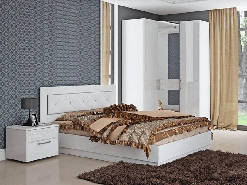 спальный гарнитур Спальня Амели 2 Амели мастеровой с сост эргономика квартиры ч 2 спальня кабинет гардеробная
