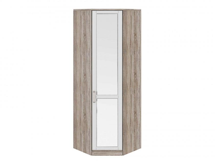 распашной шкаф Шкаф угловой с 1 зеркальной дверью Прованс Правый Прованс