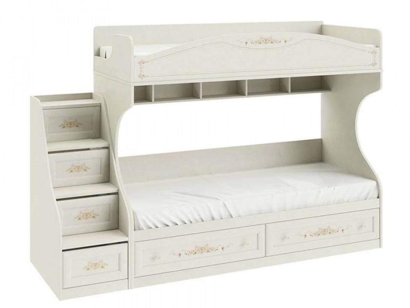 кровать Кровать двухъярусная с приставной лестницей Лючия Лючия