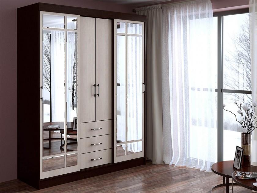 Шкафы встраиваемые с зеркалом
